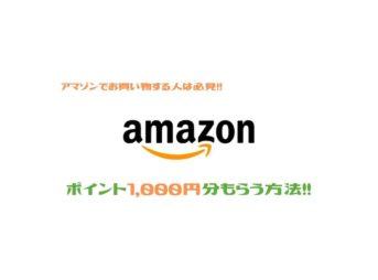Amazon1000ポイント