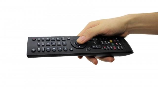 赤外線テレビリモコン