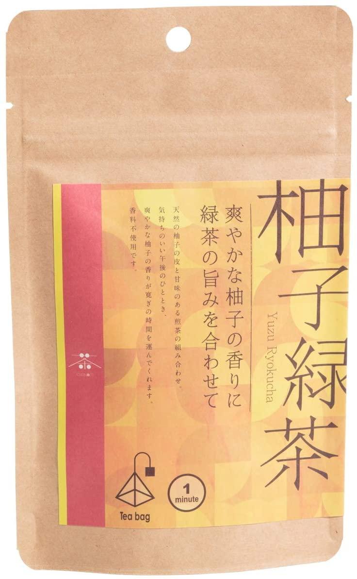 柚子緑茶_茶のみ